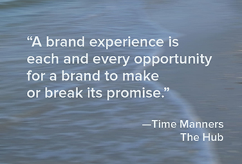 Brand Experience quote