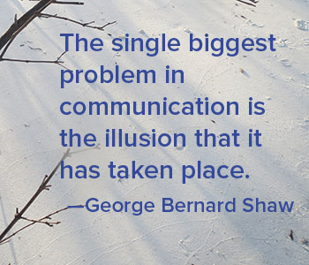 quote about communication
